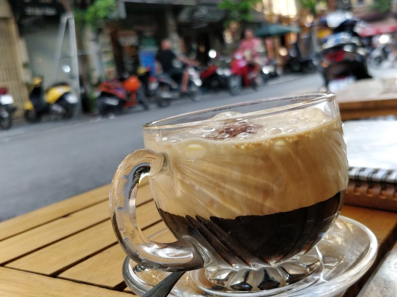 Coffee in Hanoi, Vietnam